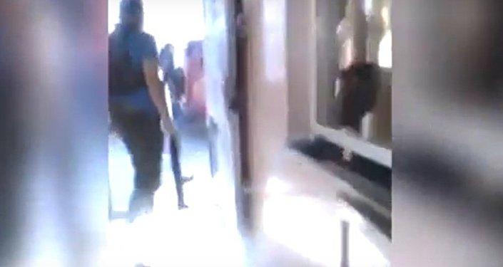 Atak na posterunek policji w Erewaniu. Napastnicy opublikowali nagranie