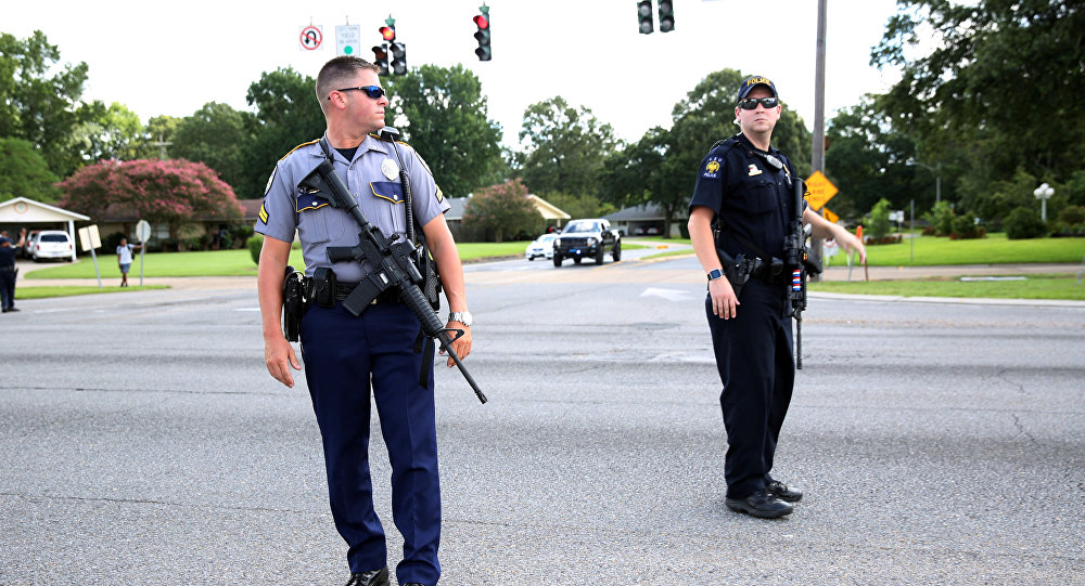 Strzelanina w Baton Rouge w Luizjanie