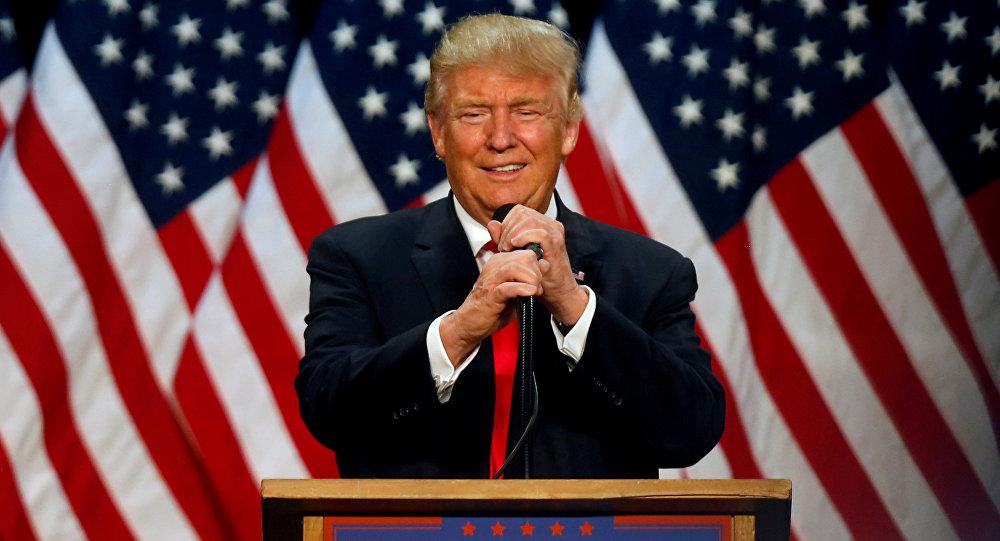 Kandydat na prezydenta Donald Trump