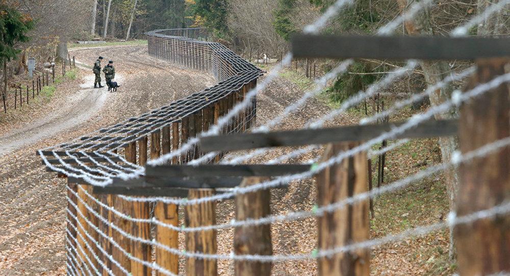 Przejście graniczne między Polską a Białorusią Pererów