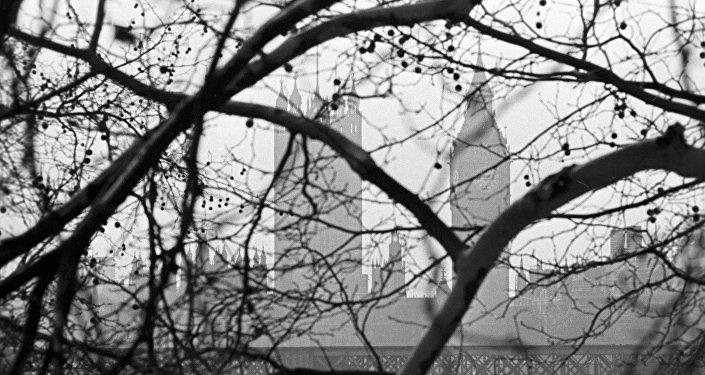 Budynek parlamentu w Londynie