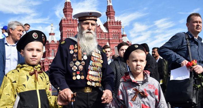 Dzień Zwycięstwa. Moskwa