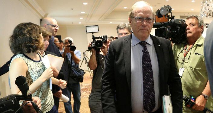 Richard McLaren, szef niezależnej komisji WADA, badającej nieprawidłowości przy badaniach próbek rosyjskich olimpijczyków