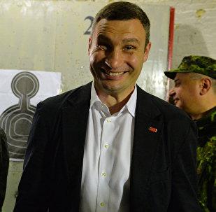 Mer Kijowa Witalij Kliczko.
