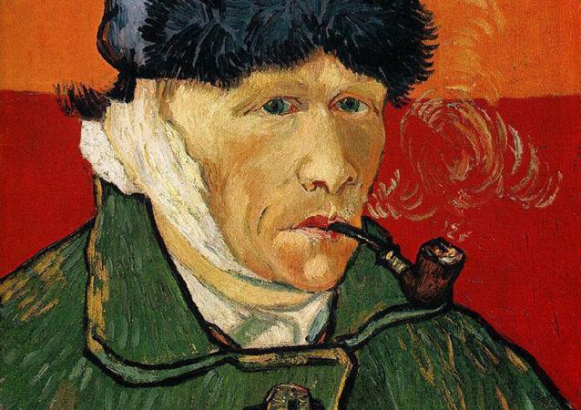 Vincent Van Gogh. Autoportret.