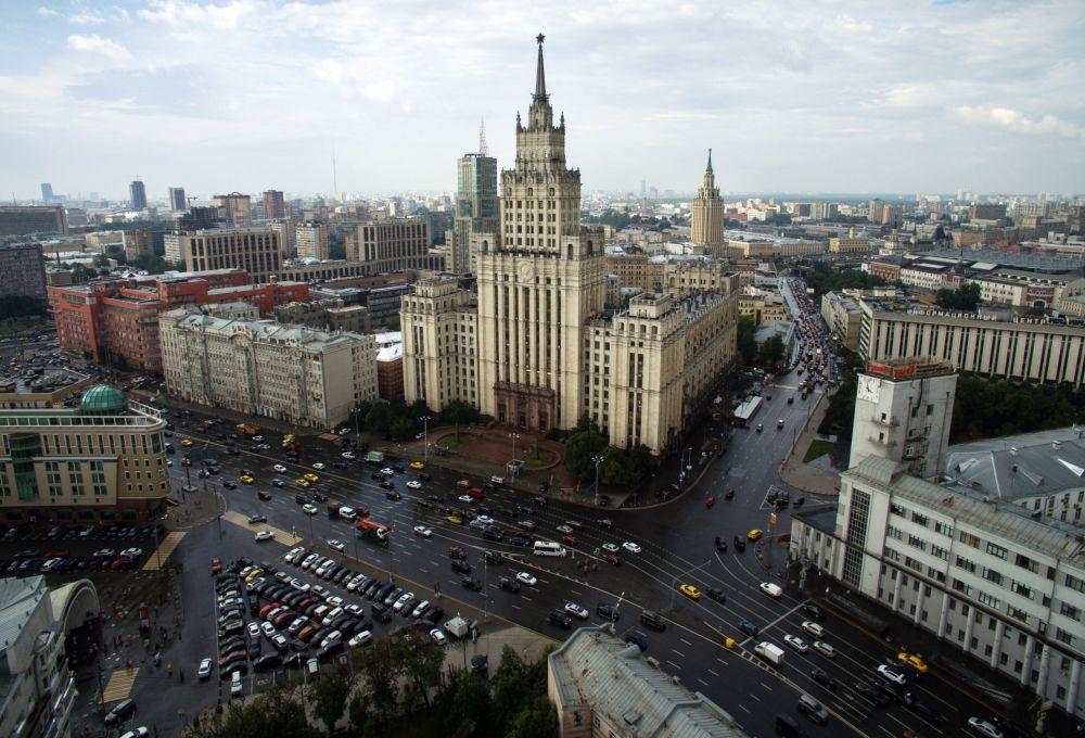 Wieżowiec na Placu Krasnyje Worota