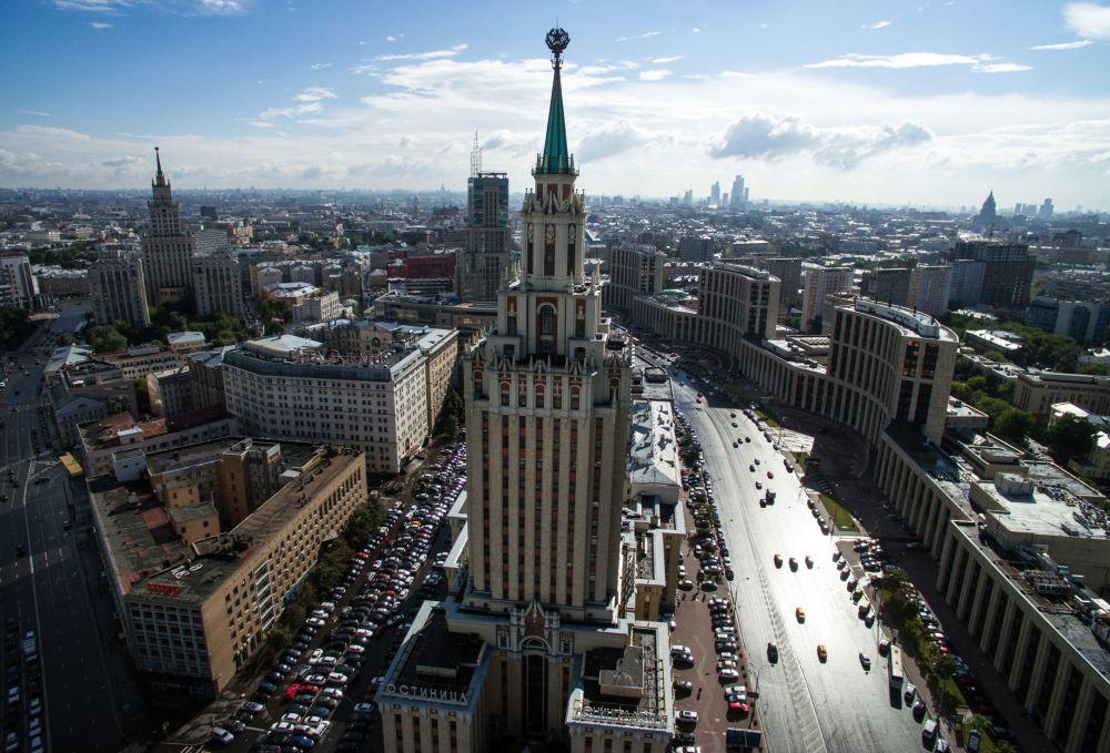 """Hotel """"Leningradzki"""", Moskwa"""