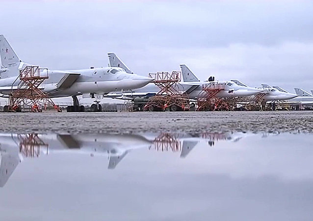 Bombowce rakietowe Tu-22 rosyjskich sił powietrznych