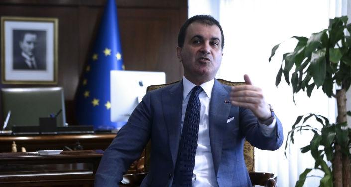 Turecki minister ds. Unii Europejskiej Omer Celik