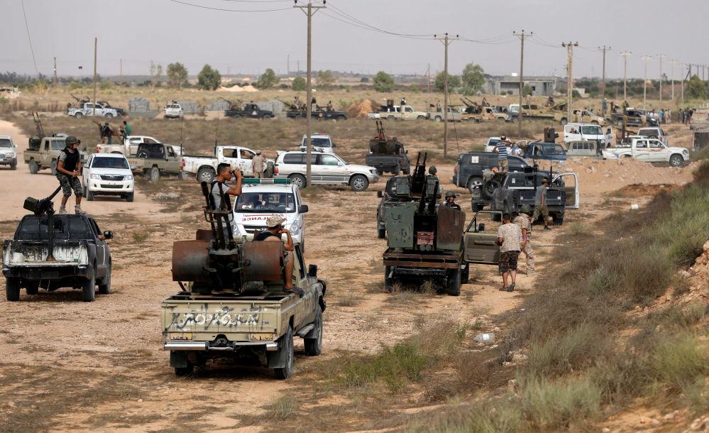 """""""Mój cel to uchwycenie finałowej walki o Syrtę."""""""