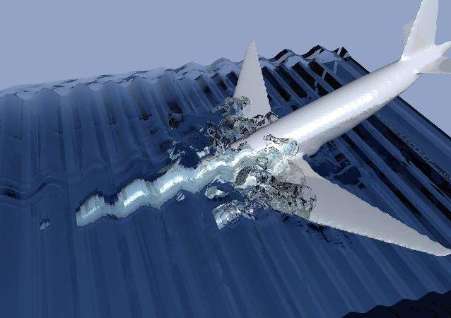 Samolot linii lotniczych Malaysia Airlines MH370: upadek samolotu do wody