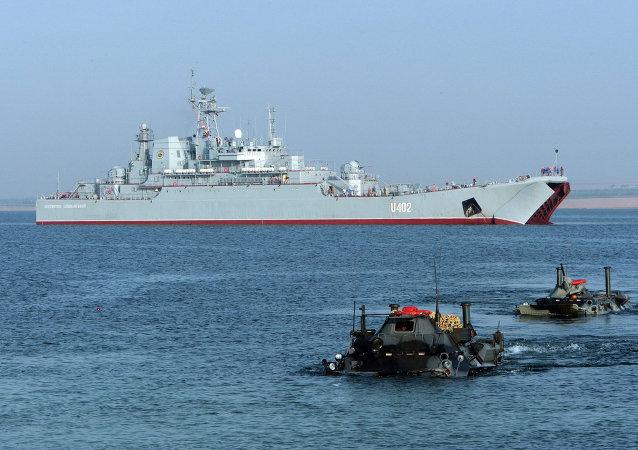 Ćwiczenia wojskowe na morzu z udziałem marynarki wojennej USA