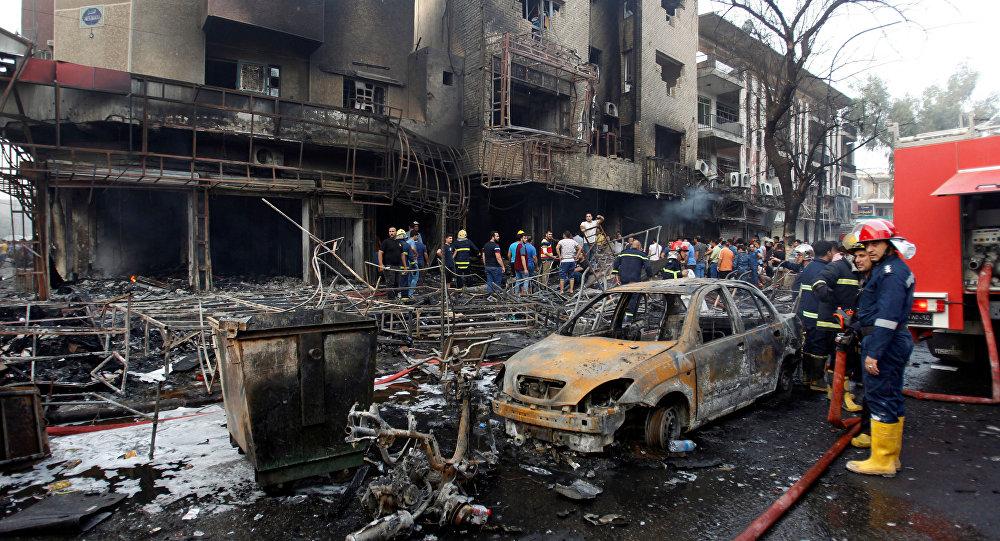 Zamach w w Karradzie, dzielnicy Bagdadu