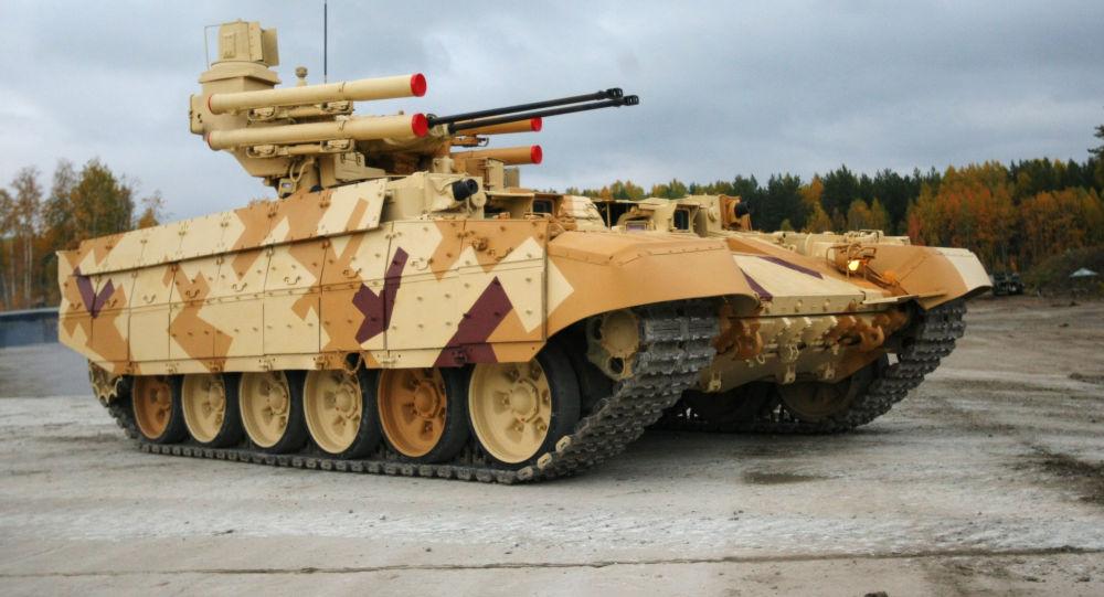 Maszyna wsparcia ogniowego czołgów Terminator