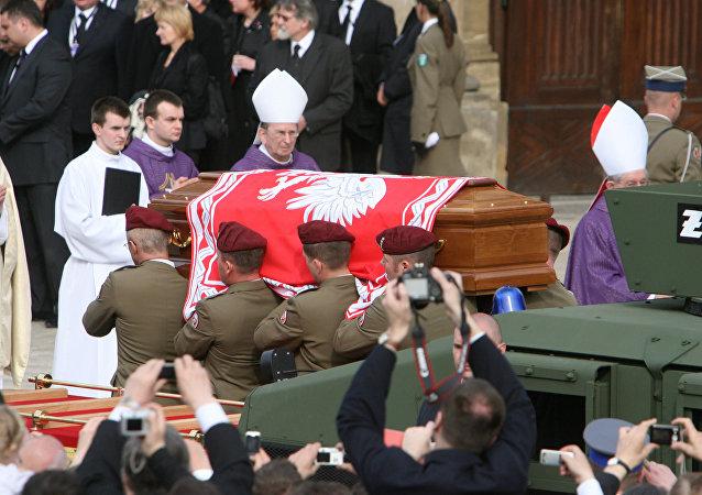 Pogrzeb Prezydenta Polski Lecha Kaczyńskiego w Krakowie.