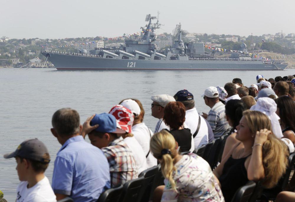 Obchody Dnia Marynarki Wojennej w Sewastopolu