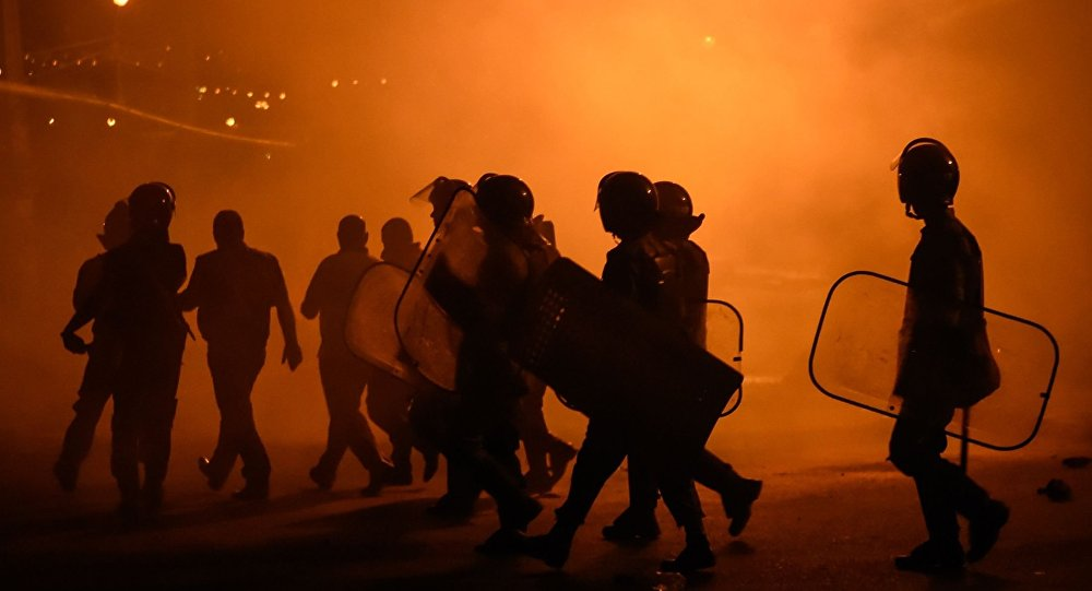 Protesty w Erywaniu