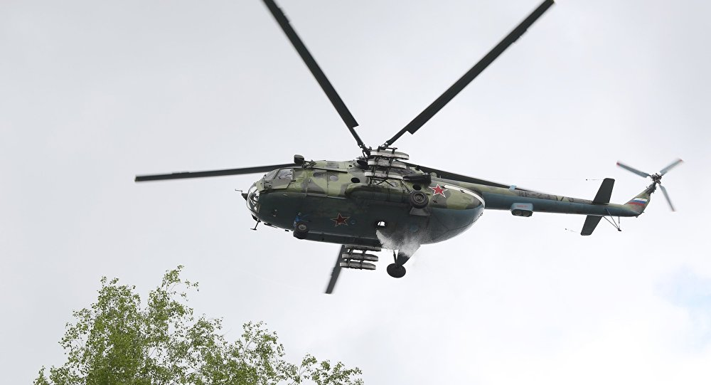 Mi-8 helicopter. (File)