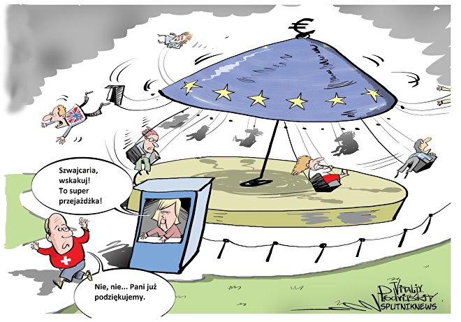Szwajcaria oficjalnie powiadomiła Unie o cofnięciu wniosku o wstąpienie