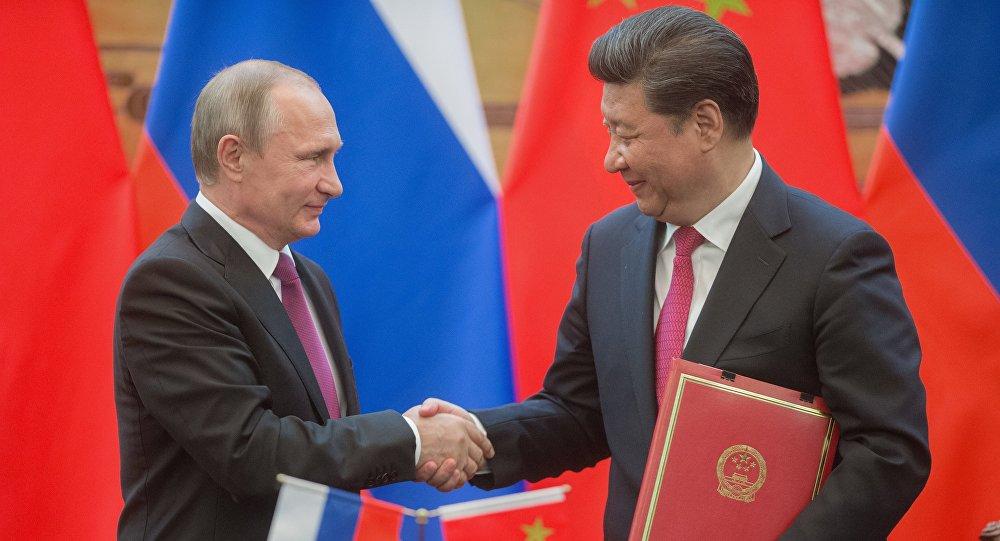 Wizyta dyplomatyczna Władimira Putina w Chinach