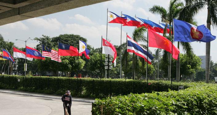 Flagi państw członkowskich ASEAN