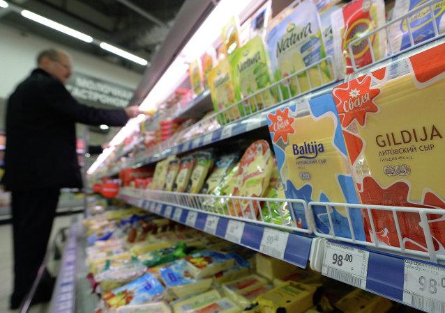 Rosja ograniczyła import nabiału z Litwy