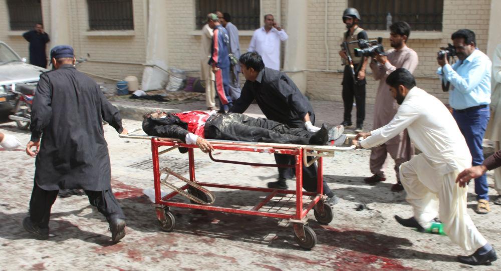 Wybuch w szpitalu w Kwecie (Pakistan)