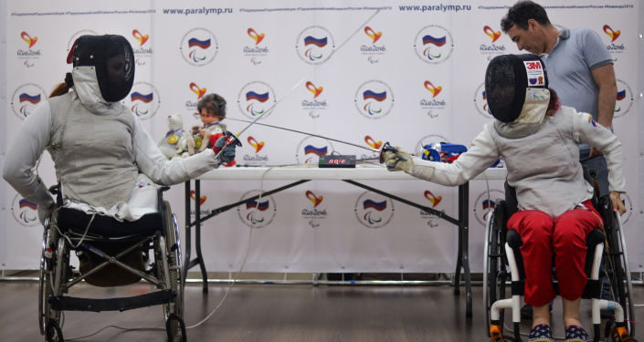 Paraolimpijczycy z Rosji