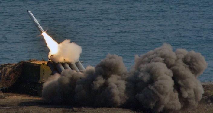 Nadbrzeżna wyrzutnia rakietowa Bal