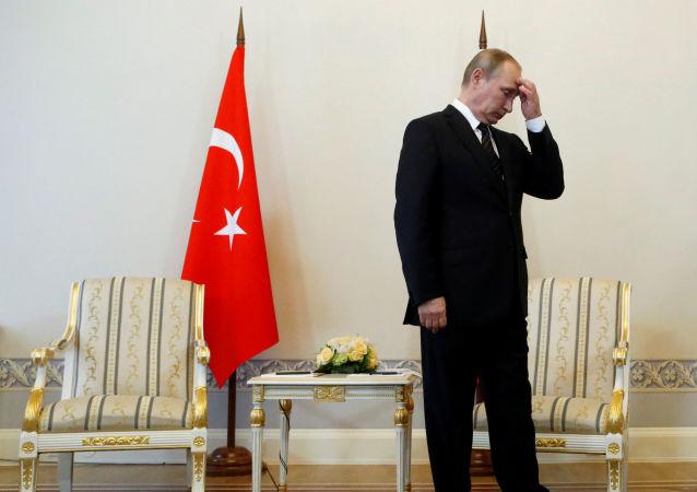 Wizyta prezydenta Turcji Recepa Tayyipa Erdogana w Petersburgu