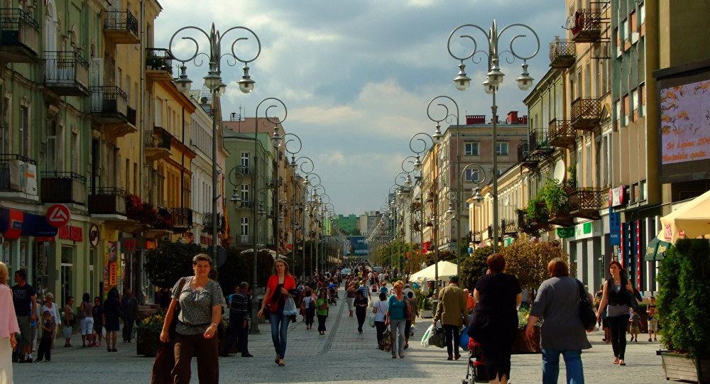Ulica Sienkiewicza w Kielcach