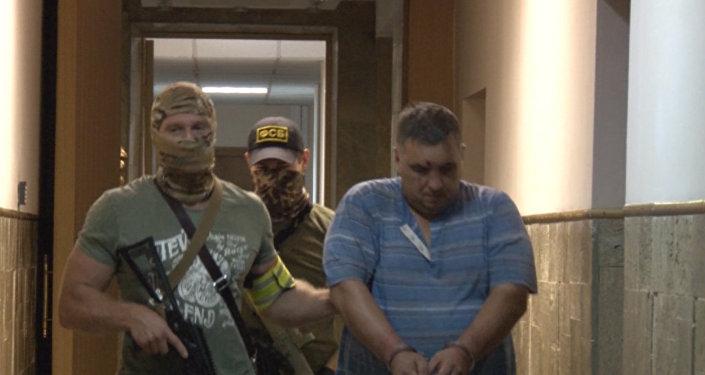 Aresztowanie dywersantów, planujących ataki terrorystyczne na Krymie