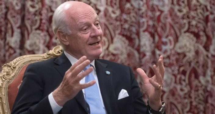 Specjalny wysłannik sekretarza generalnego ONZ do Syrii Staffan de Mistura