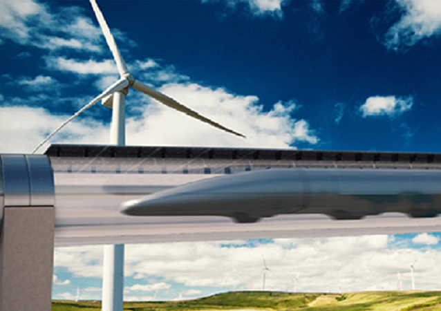 System Transportu Hyperloop