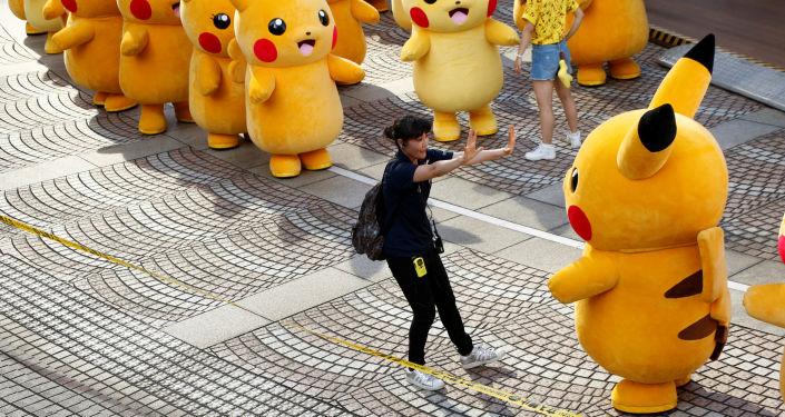 Występ pokemonów w Yokohamie, Japonia