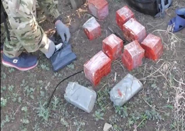 Zatrzymanie na Krymie ukraińskich dywersantów.
