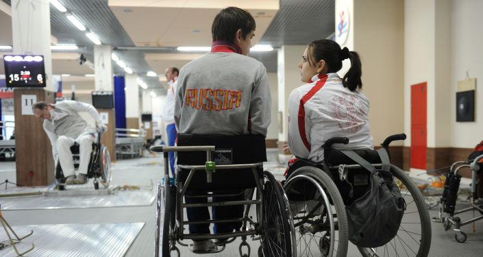 Mistrzostwa Rosji w szermierce na wózkach