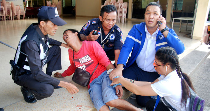 Ataki bombowe w kurortach w Tajlandii