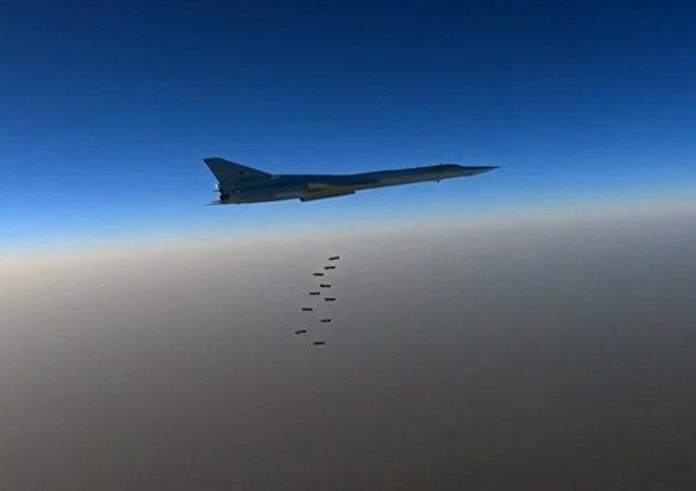Rosyjskie bombowce dalekiego zasięgu Tu-22 M3.
