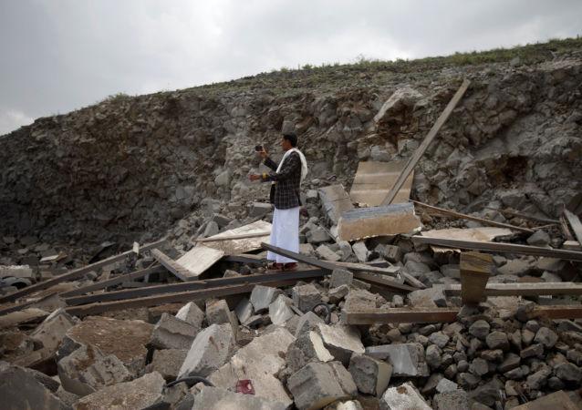 Naloty koalicji arabskiej w Jemenie