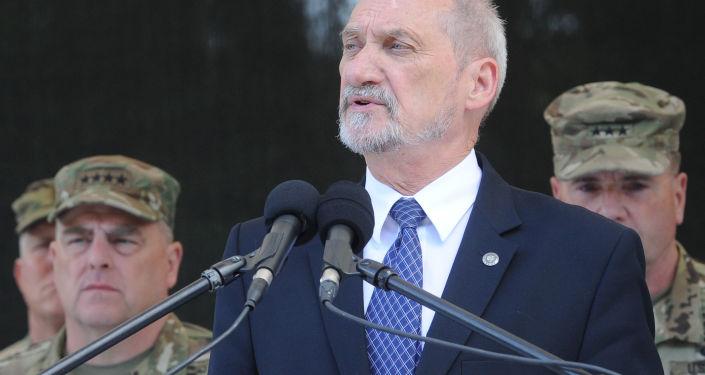 Minister obrony RP Antoni Macierewicz