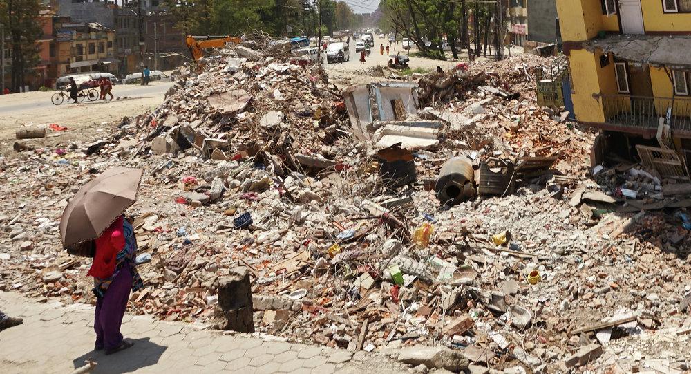 Trzęsienie ziemi w Nepalu