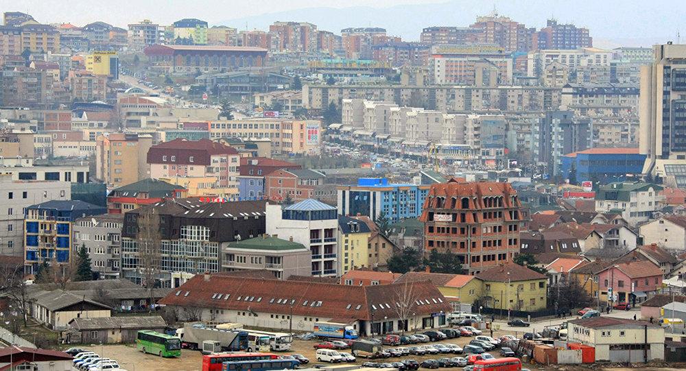 Panorama Prisztiny - stolicy Kosowa
