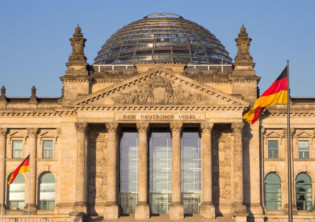 Bundestag w Berlinie
