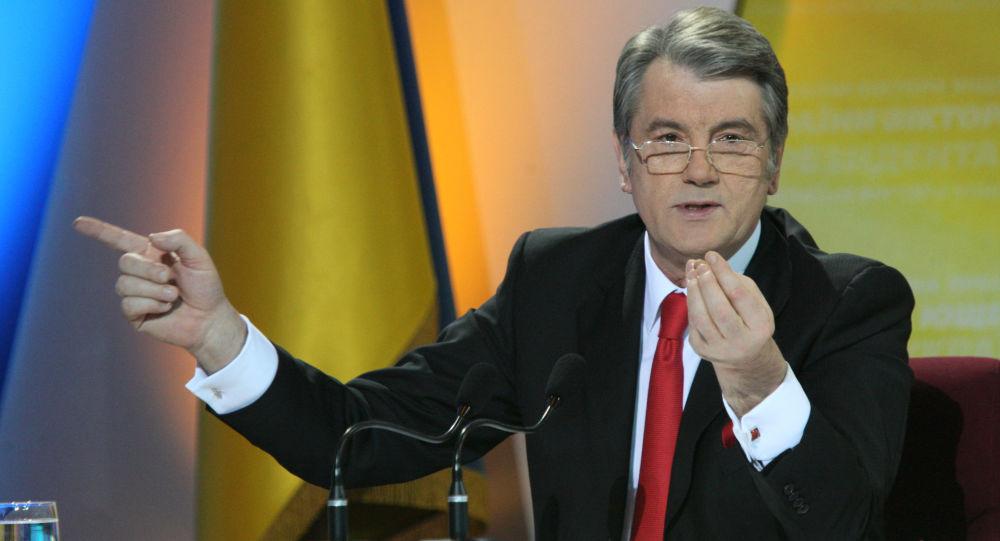 Prezydent Ukrainy Wiktor Juszczenko