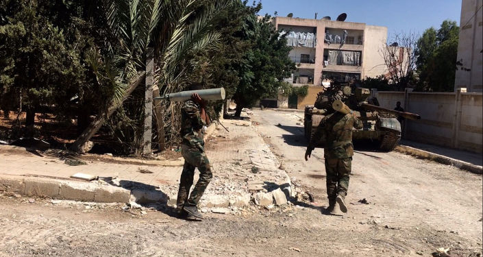 Sytuacja na południowym zachodzie Aleppo