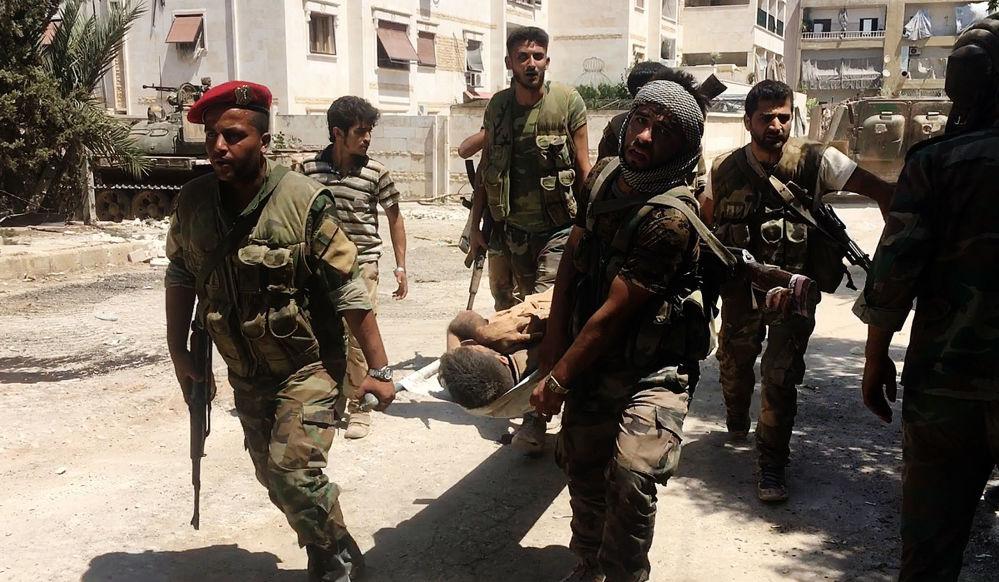 W rejonie Aleppo od 7 lipca trwają aktywne walki między siłami rządowymi i niepaństwowymi uzbrojonymi grupami. W poniedziałek okrążeni bojownicy próbowali przerwać pozycje armii rządowej na północnym i południowym zachodzie miasta. Żołnierzom udało się odeprzeć atak.