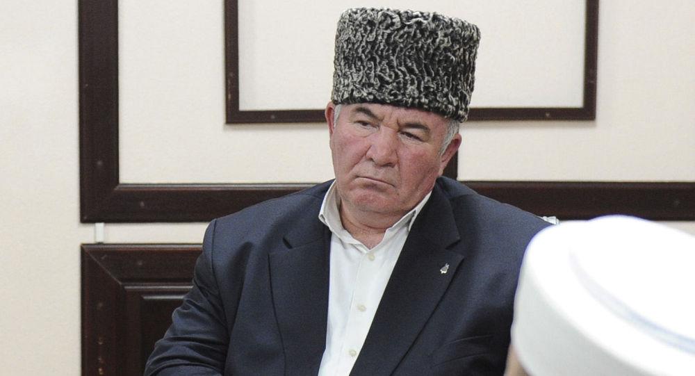 Przewodniczący koordynacyjnego centrum muzułmanów Kaukazu Północego mufti karaczajewo-czerkieski Ismaił Berdijew