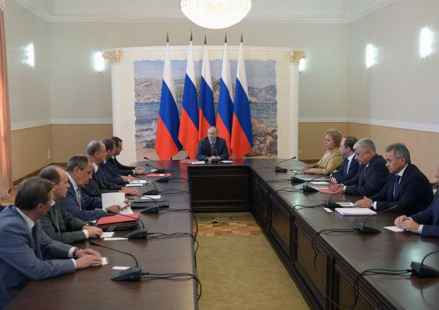 Sesja Rady Bezpieczeństwa Rosji na Krymie