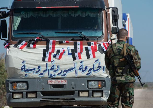 15 sierpnia ponad 2 tys. ton ryżu, cukru, herbaty, mięsnych i rybnych konserw dostarczono do miejscowości Shweha w prowincji Hama.
